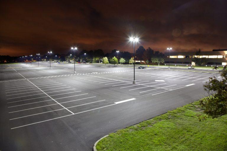 League City Parking Lot Lighting